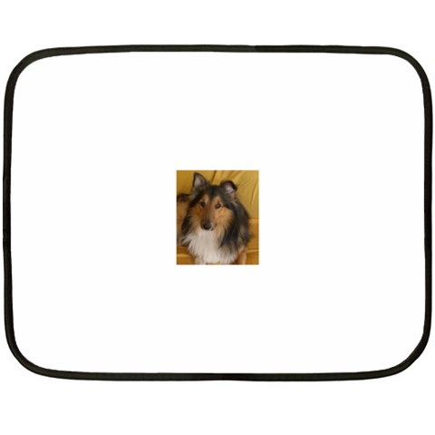 Shetland Sheepdog Double Sided Fleece Blanket (Mini)