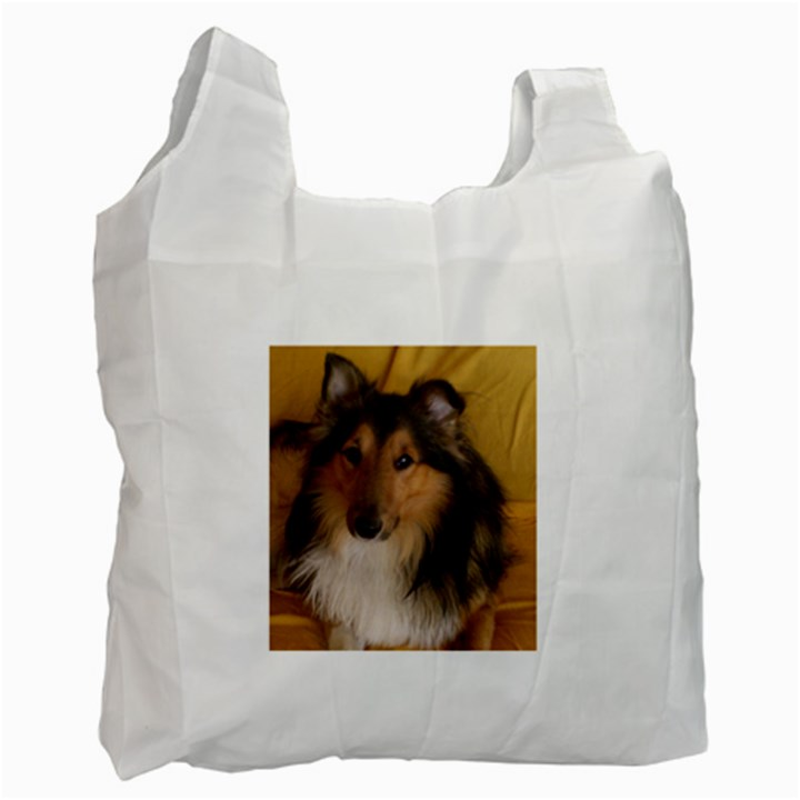 Shetland Sheepdog Recycle Bag (Two Side)
