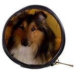Shetland Sheepdog Mini Makeup Bags Front