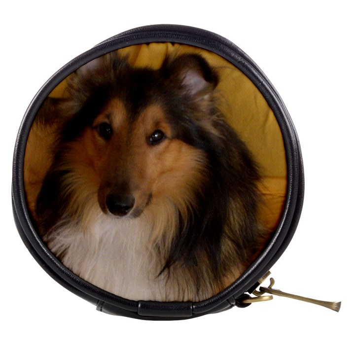 Shetland Sheepdog Mini Makeup Bags