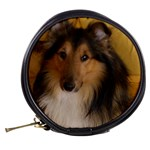 Shetland Sheepdog Mini Makeup Bags Back