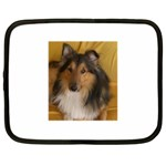 Shetland Sheepdog Netbook Case (XL)  Front