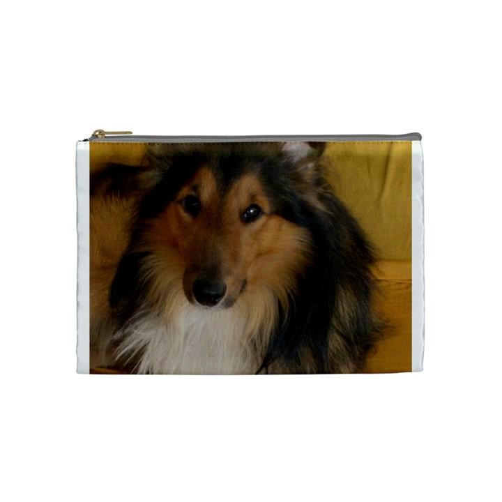 Shetland Sheepdog Cosmetic Bag (Medium)