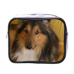 Shetland Sheepdog Mini Toiletries Bags