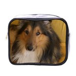 Shetland Sheepdog Mini Toiletries Bags Front