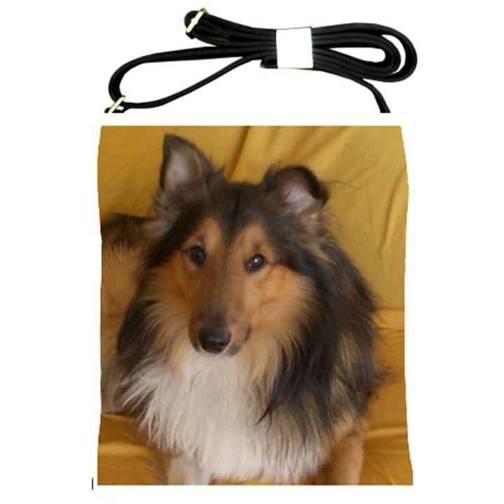 Shetland Sheepdog Shoulder Sling Bags