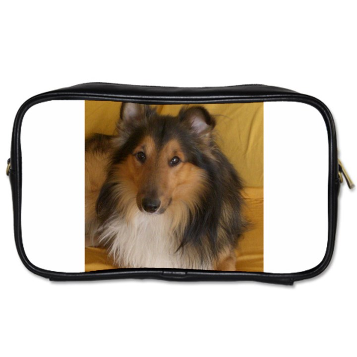 Shetland Sheepdog Toiletries Bags