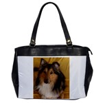 Shetland Sheepdog Office Handbags Front
