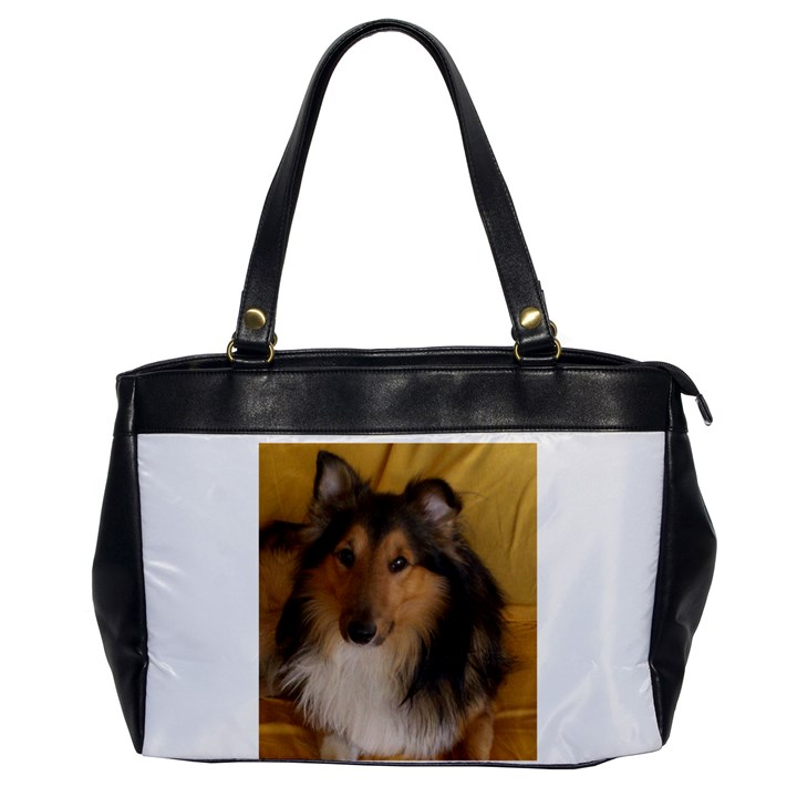 Shetland Sheepdog Office Handbags