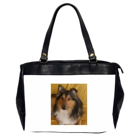 Shetland Sheepdog Office Handbags (2 Sides)
