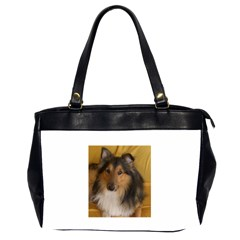 Shetland Sheepdog Office Handbags (2 Sides)