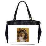 Shetland Sheepdog Office Handbags (2 Sides)  Front