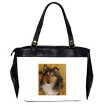 Shetland Sheepdog Office Handbags (2 Sides)  Back