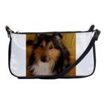 Shetland Sheepdog Shoulder Clutch Bags Front