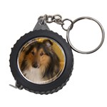 Shetland Sheepdog Measuring Tapes Front