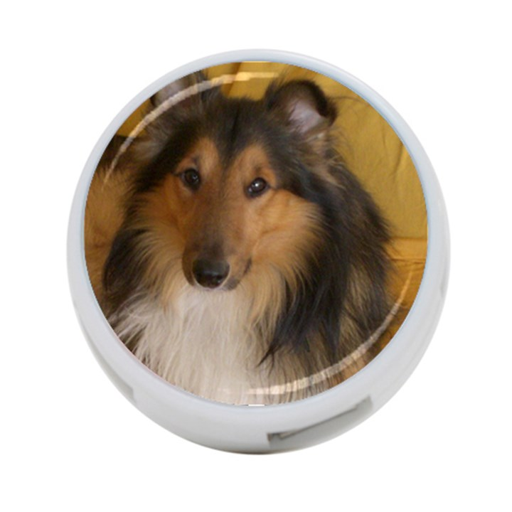 Shetland Sheepdog 4-Port USB Hub (One Side)