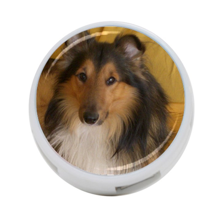 Shetland Sheepdog 4-Port USB Hub (Two Sides)