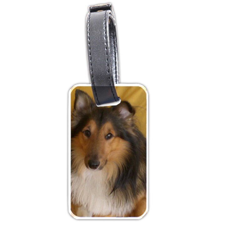 Shetland Sheepdog Luggage Tags (One Side)