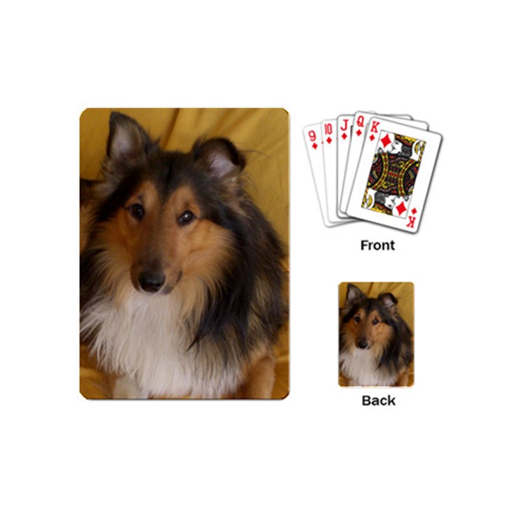 Shetland Sheepdog Playing Cards (Mini)