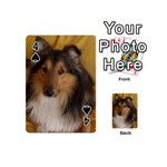 Shetland Sheepdog Playing Cards 54 (Mini)  Front - Spade4