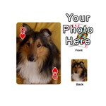 Shetland Sheepdog Playing Cards 54 (Mini)  Front - HeartQ