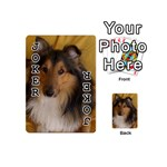 Shetland Sheepdog Playing Cards 54 (Mini)  Front - Joker1