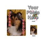 Shetland Sheepdog Playing Cards 54 (Mini)  Front - Joker2