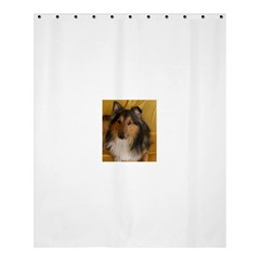 Shetland Sheepdog Shower Curtain 60  x 72  (Medium)