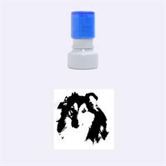 Shetland Sheepdog Rubber Round Stamps (Small)