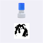 Shetland Sheepdog Rubber Round Stamps (Small) 1.12 x1.12  Stamp