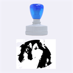 Shetland Sheepdog Rubber Oval Stamps 1.88 x1.37  Stamp