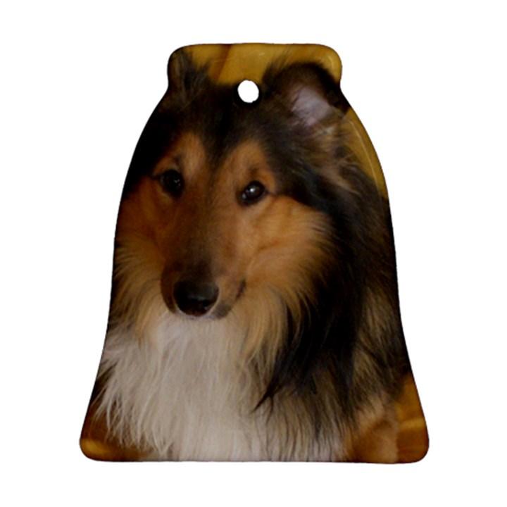 Shetland Sheepdog Bell Ornament (2 Sides)