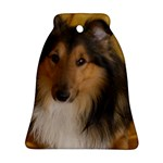 Shetland Sheepdog Bell Ornament (2 Sides) Back