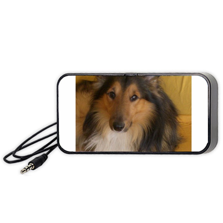 Shetland Sheepdog Portable Speaker (Black)