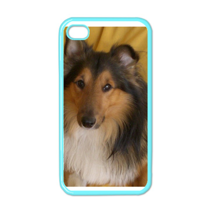Shetland Sheepdog Apple iPhone 4 Case (Color)