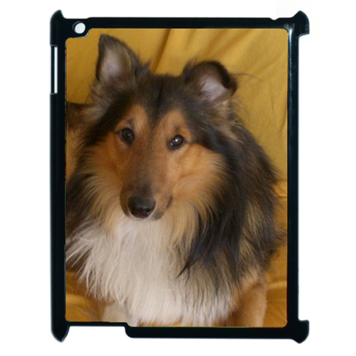 Shetland Sheepdog Apple iPad 2 Case (Black)