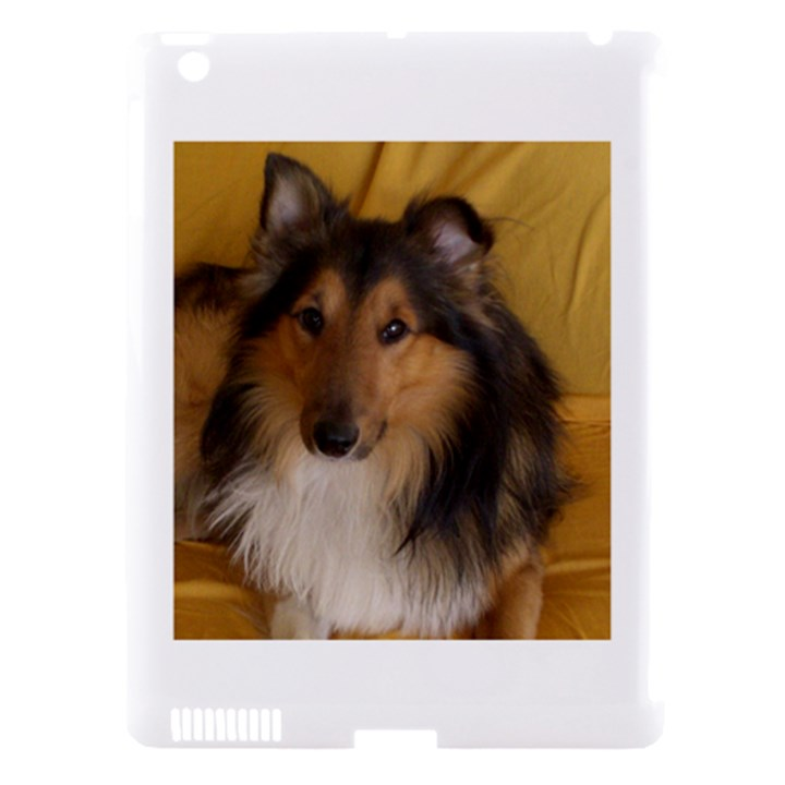 Shetland Sheepdog Apple iPad 3/4 Hardshell Case (Compatible with Smart Cover)