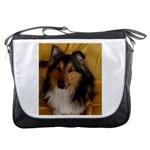 Shetland Sheepdog Messenger Bags Front