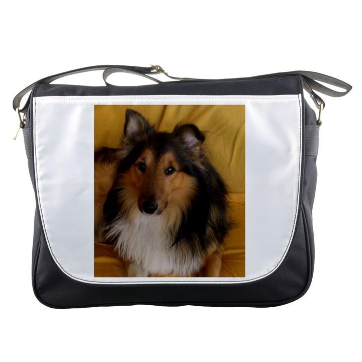 Shetland Sheepdog Messenger Bags