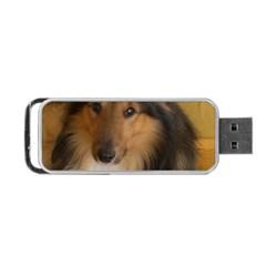 Shetland Sheepdog Portable USB Flash (Two Sides)