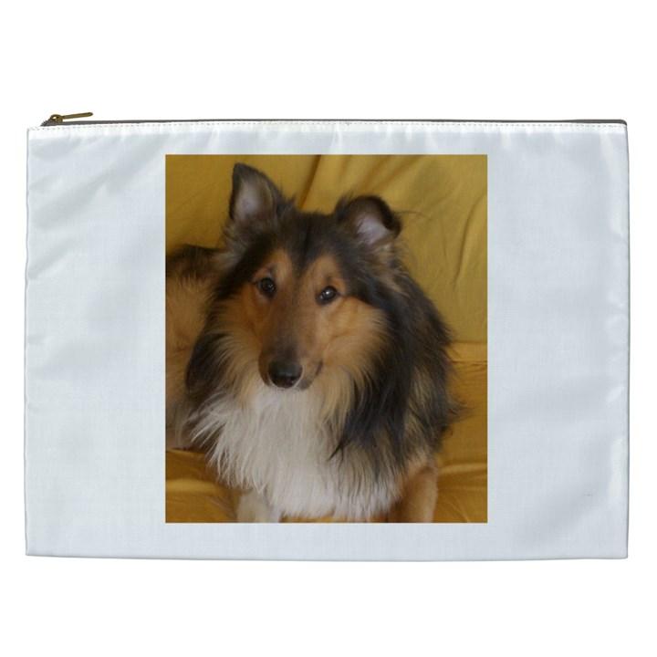 Shetland Sheepdog Cosmetic Bag (XXL)