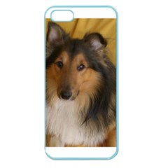 Shetland Sheepdog Apple Seamless iPhone 5 Case (Color)
