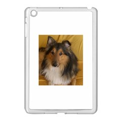 Shetland Sheepdog Apple iPad Mini Case (White)