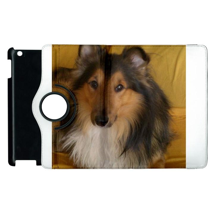Shetland Sheepdog Apple iPad 2 Flip 360 Case