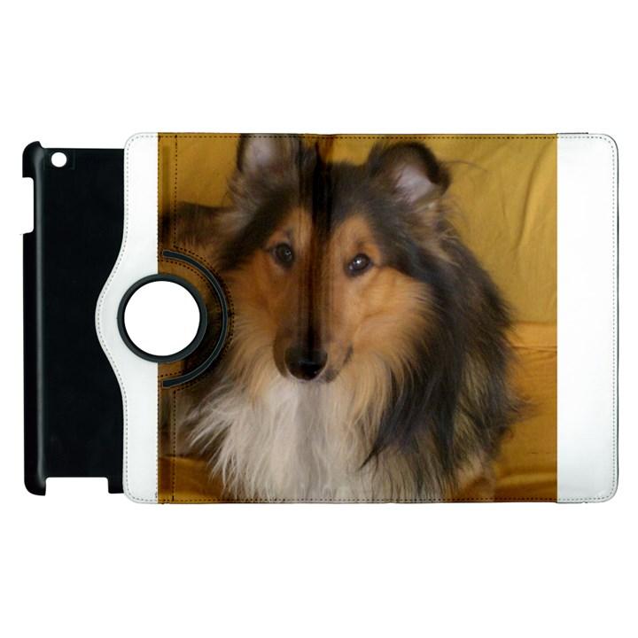 Shetland Sheepdog Apple iPad 3/4 Flip 360 Case