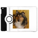 Shetland Sheepdog Apple iPad Mini Flip 360 Case Front