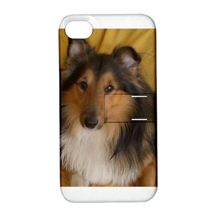 Shetland Sheepdog Apple iPhone 4/4S Hardshell Case with Stand