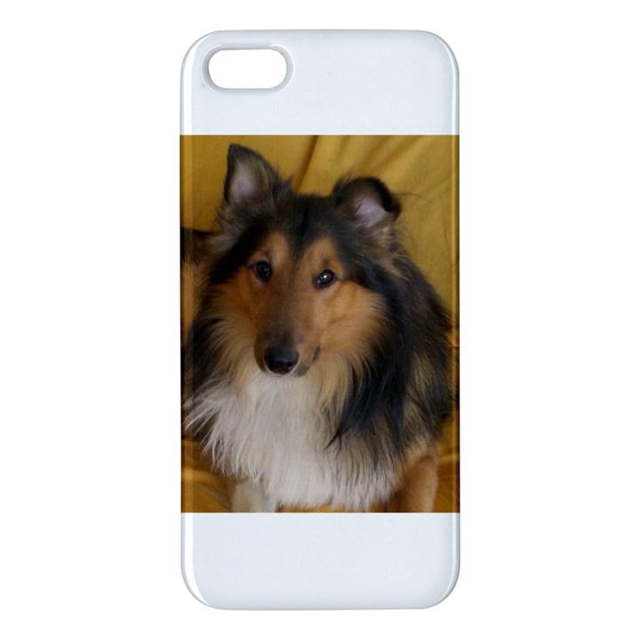 Shetland Sheepdog Apple iPhone 5 Premium Hardshell Case