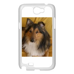 Shetland Sheepdog Samsung Galaxy Note 2 Case (White)
