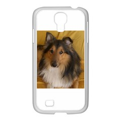 Shetland Sheepdog Samsung GALAXY S4 I9500/ I9505 Case (White)